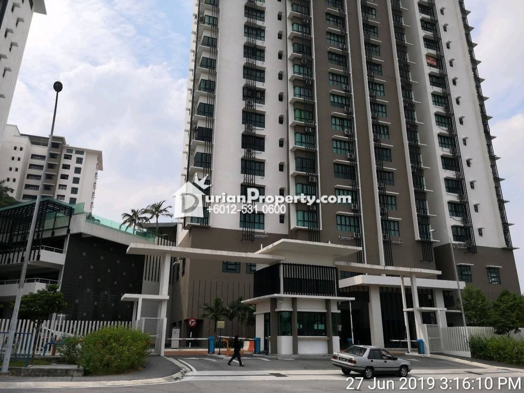 Condo For Auction at Lake Vista Residences, Bandar Tun Hussein Onn