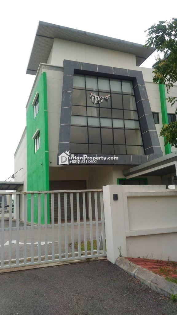 Semi-D Factory For Auction at Taman Perindustrian SIS 288, Beranang Industrial Park