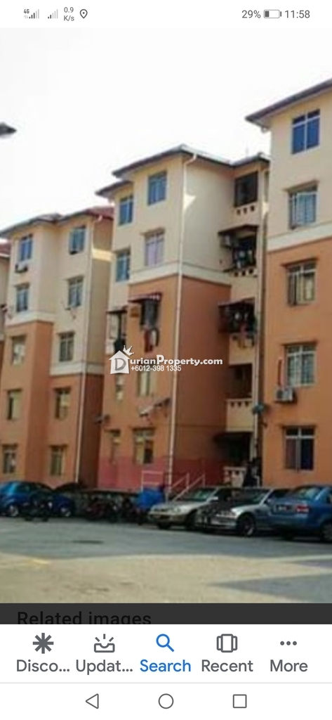 Apartment For Rent at Sri Puteri Apartment, Ukay