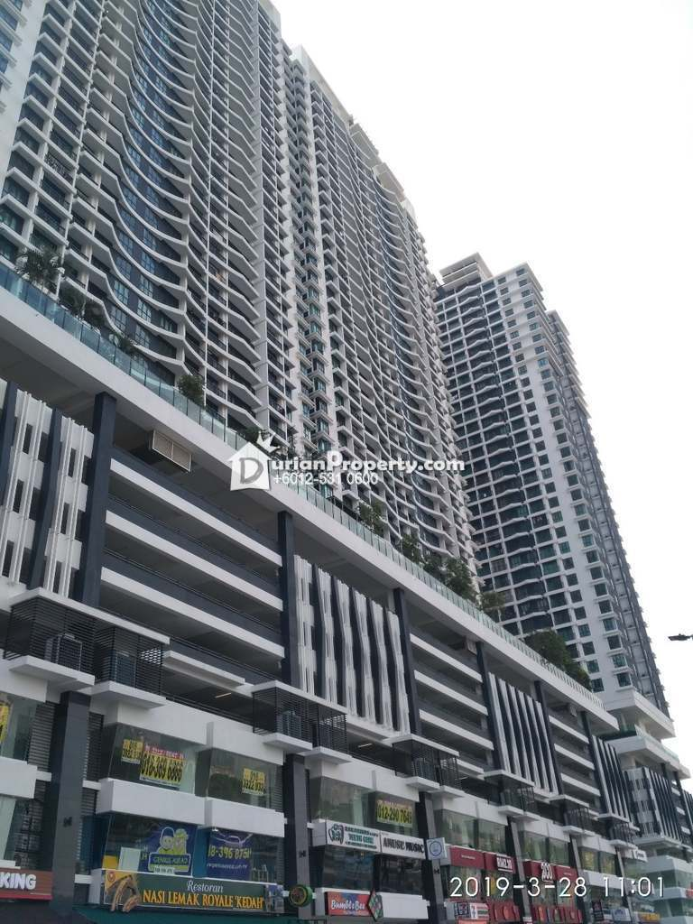 Apartment For Auction at KL Traders Square, Kampung Kuantan