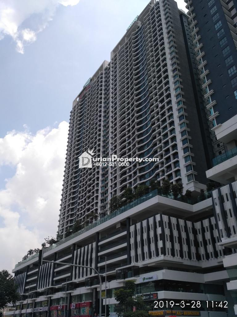 Apartment For Auction at KL Traders Square, Kampung Kuantan