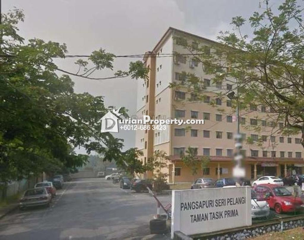 Apartment For Sale at Pangsapuri Seri Pelangi, Taman Tasik Prima