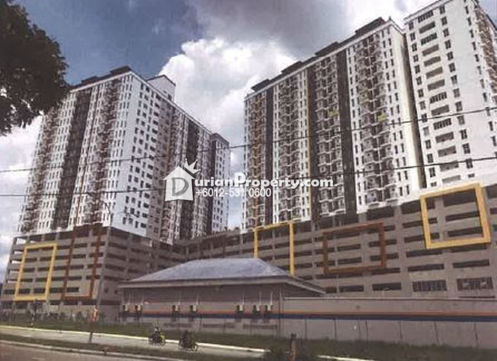 Apartment For Auction at Ascotte Boulevard, Semenyih