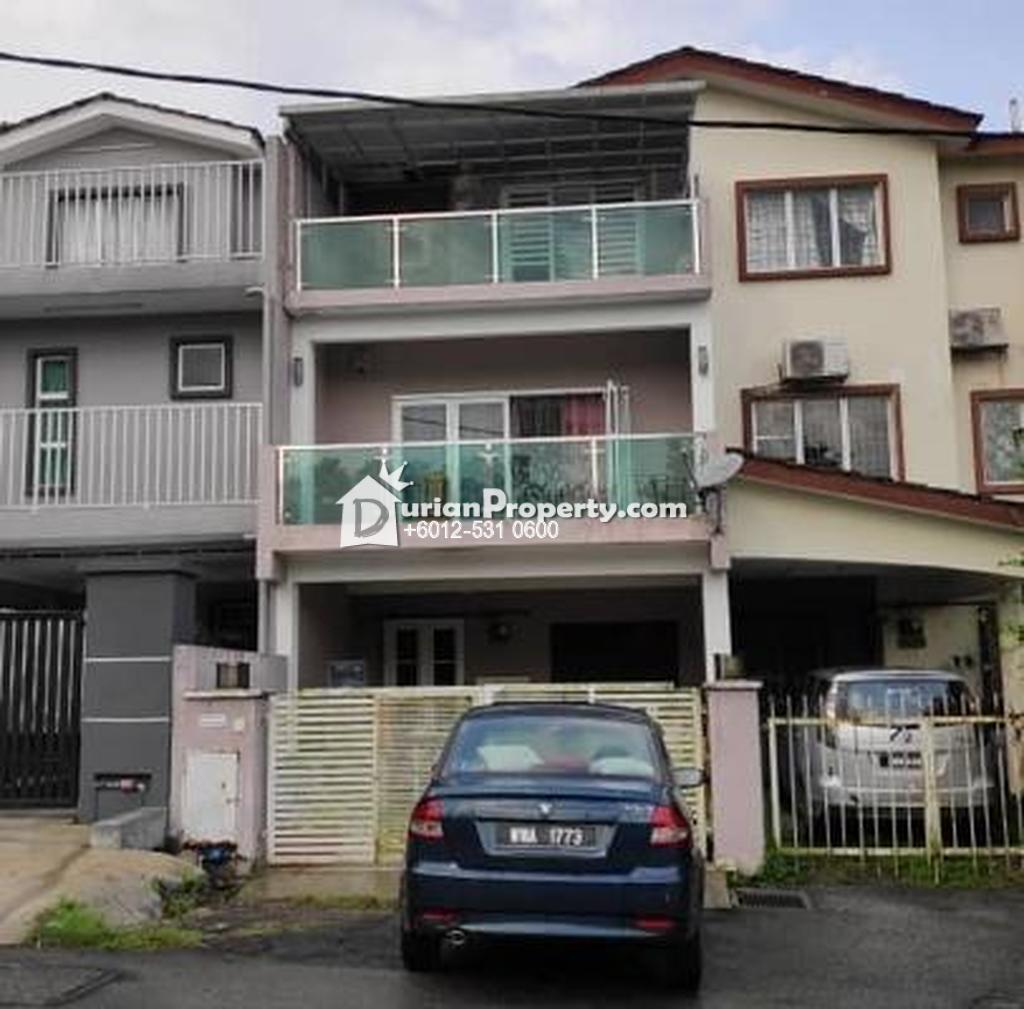 Terrace House For Auction at Taman Selayang Mulia, Batu Caves