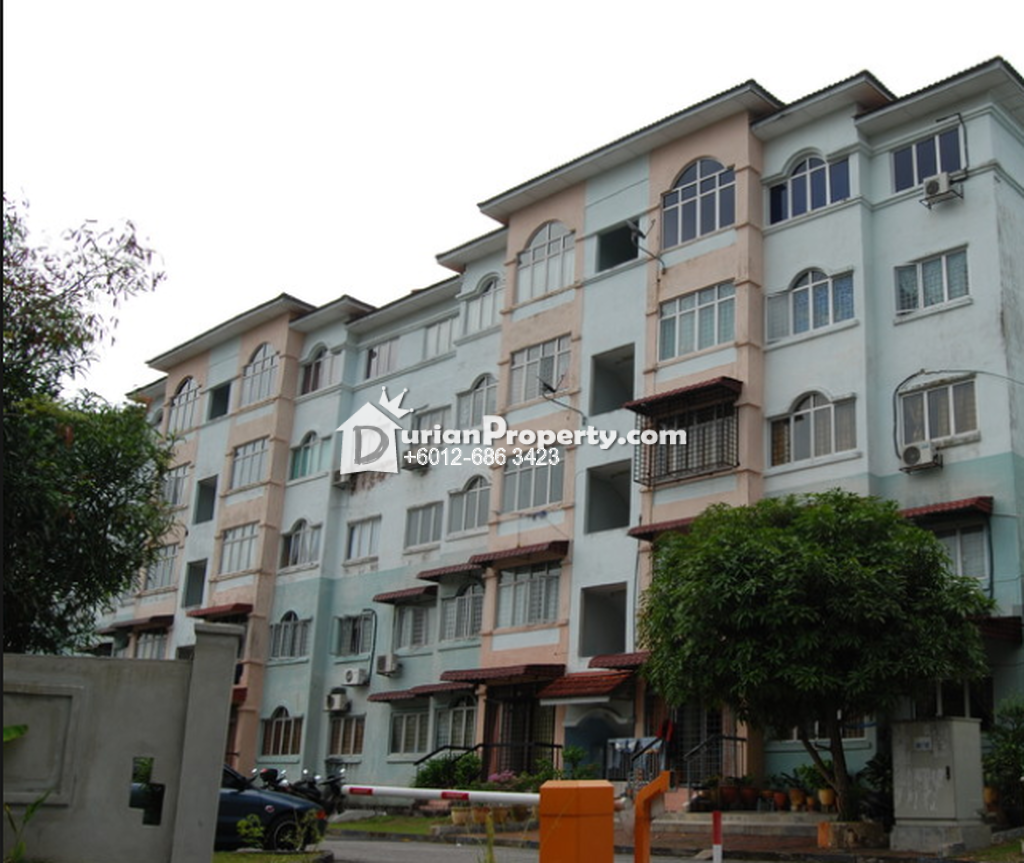 Apartment For Sale at Taman Megah, Cheras South