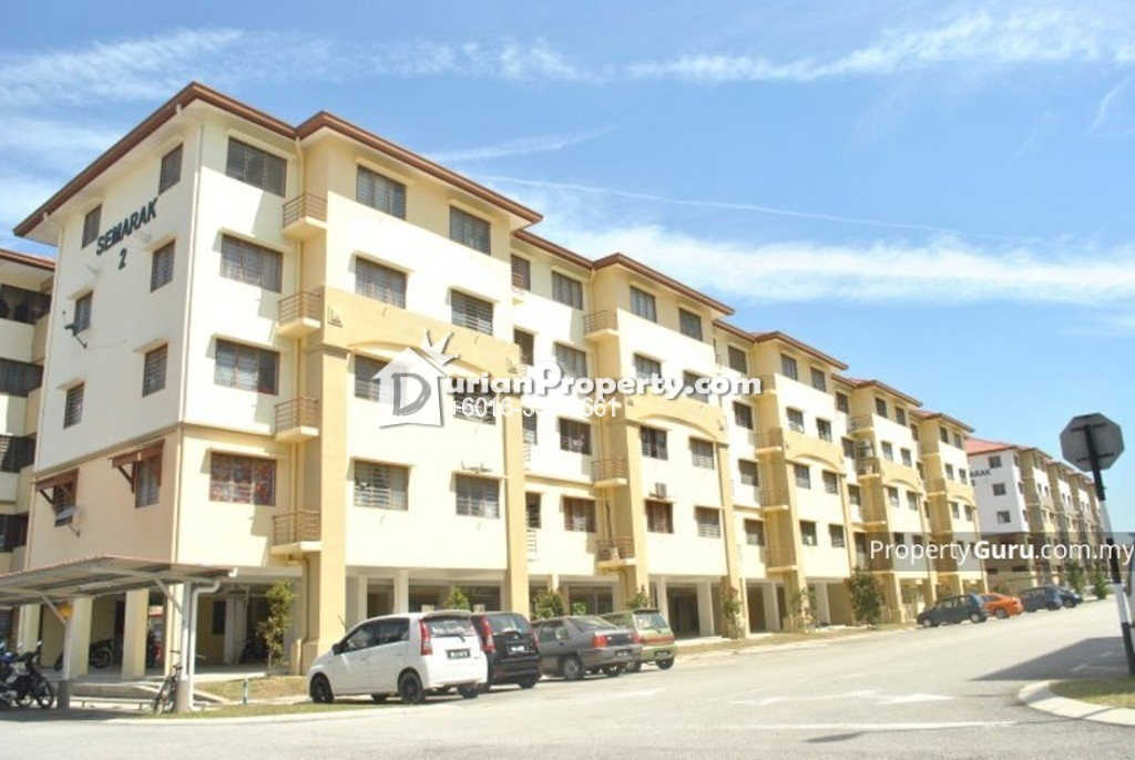 Flat For Rent at Semarak Apartment, Setia Alam