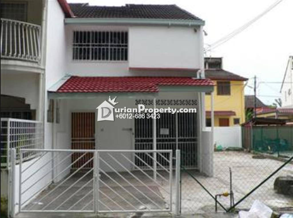 Terrace House For Sale at Taman Sri Rampai, Setapak