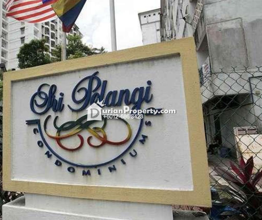 Condo For Sale at Sri Pelangi, Setapak