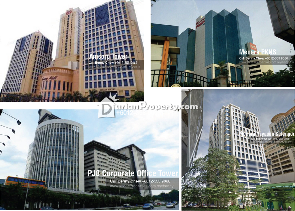 Office For Rent at Section 8, Petaling Jaya