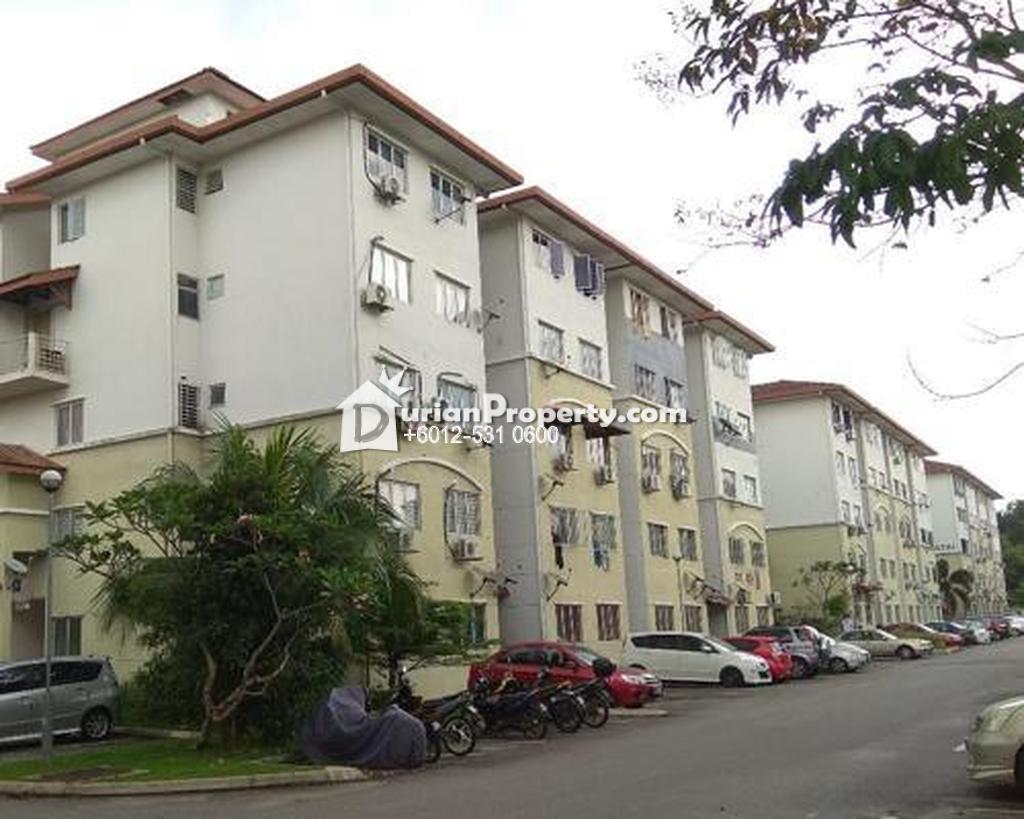 Apartment For Auction at Teratai Apartment, Kajang
