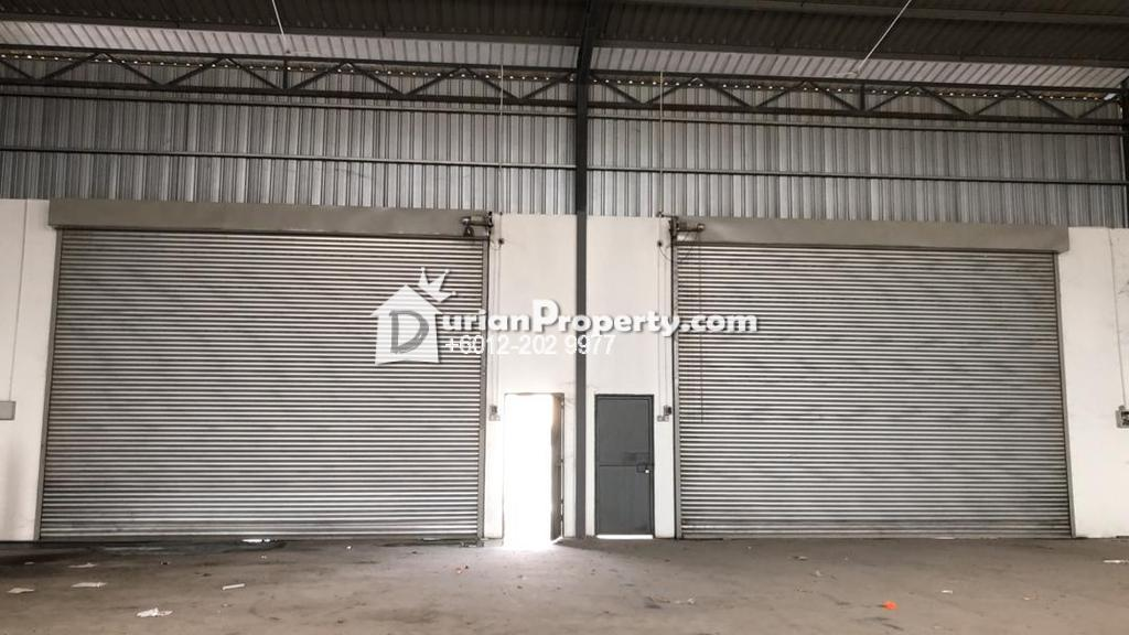 Detached Factory For Rent at Taman Bersatu, Rawang