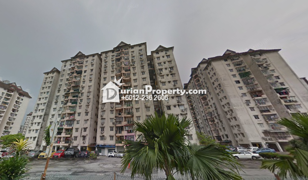 Condo For Rent at Genting Court, Setapak