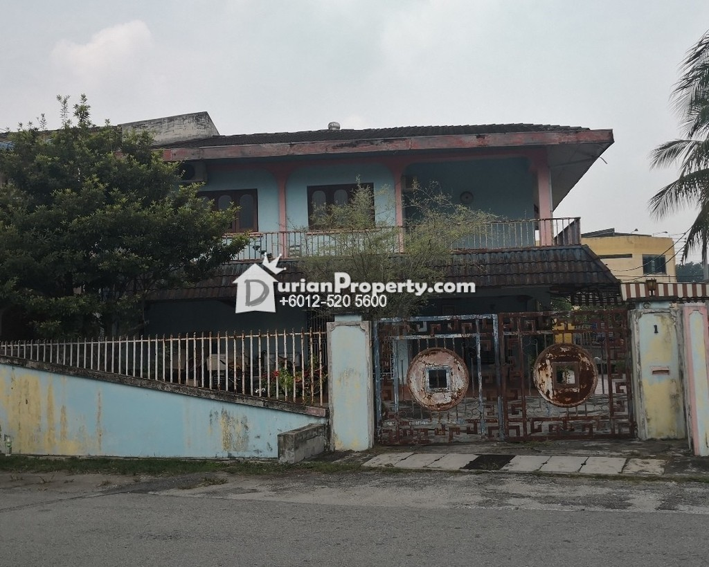 Terrace House For Auction at Taman Malcop, Ipoh