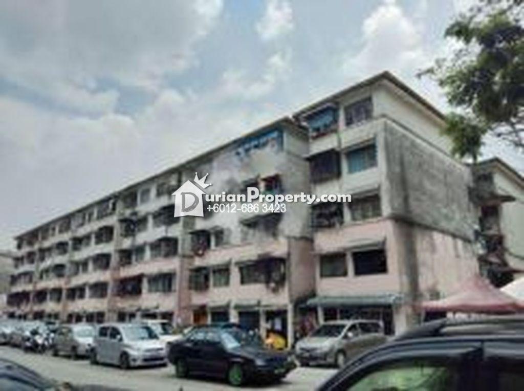 Flat For Sale at Pandan Indah Flat, Ampang