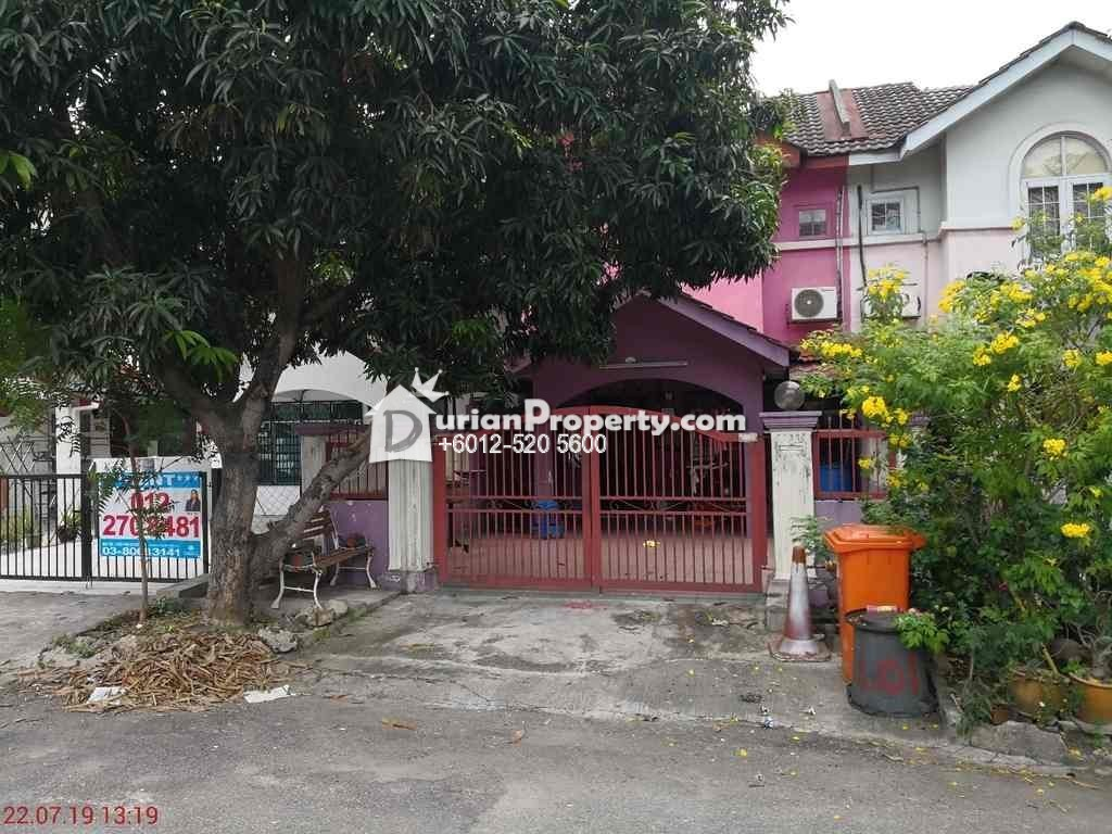 Terrace House For Auction at Taman Puchong Perdana, Puchong