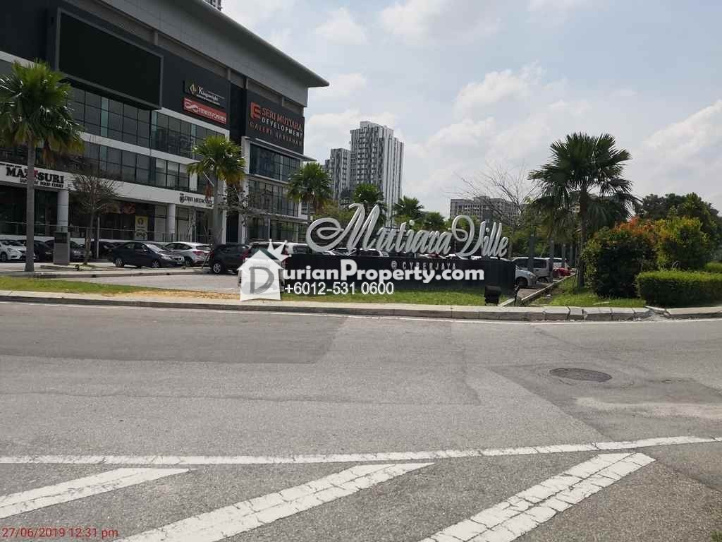 Apartment For Auction at Mutiara Ville, Cyberjaya
