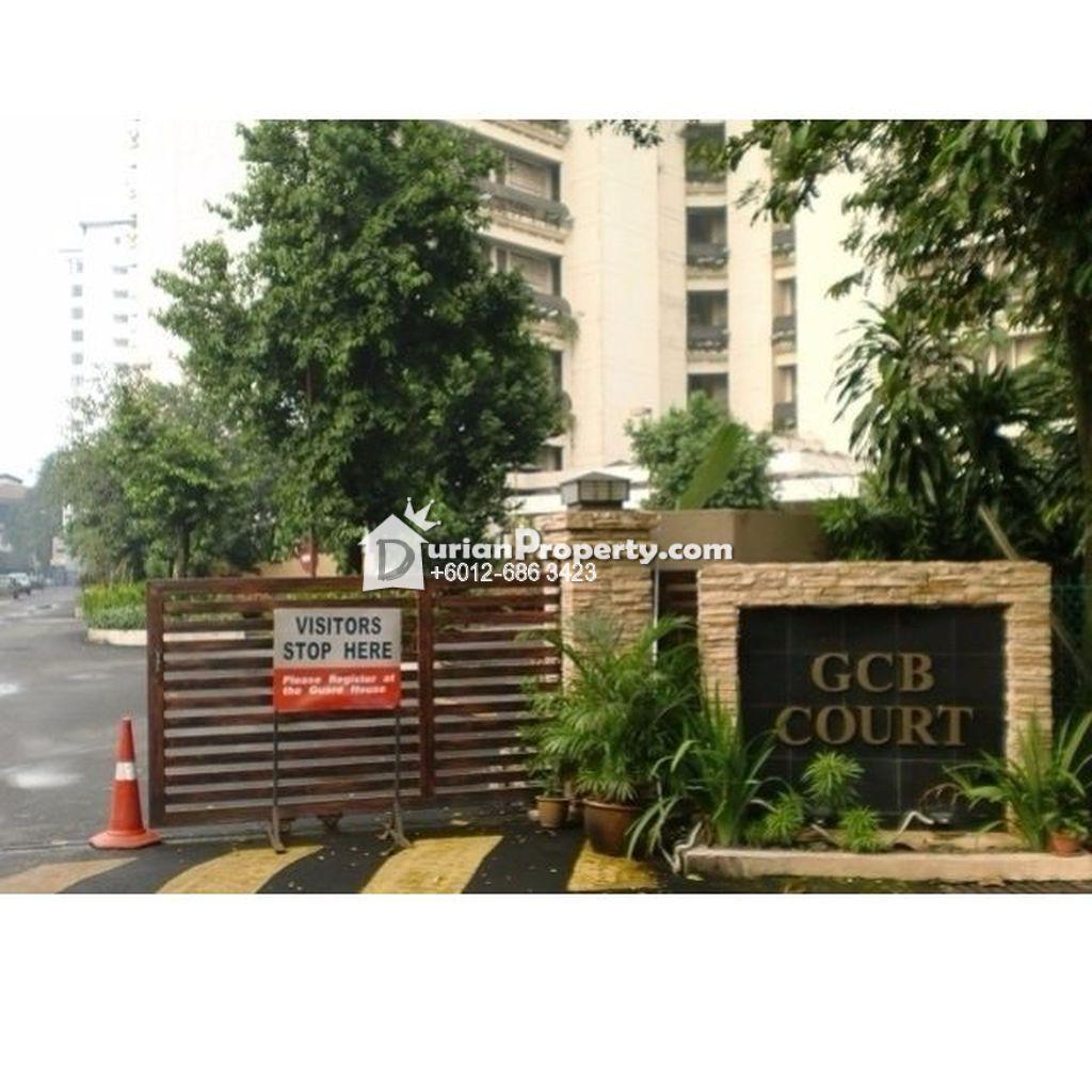 Condo For Sale at GCB Court, Ampang Hilir