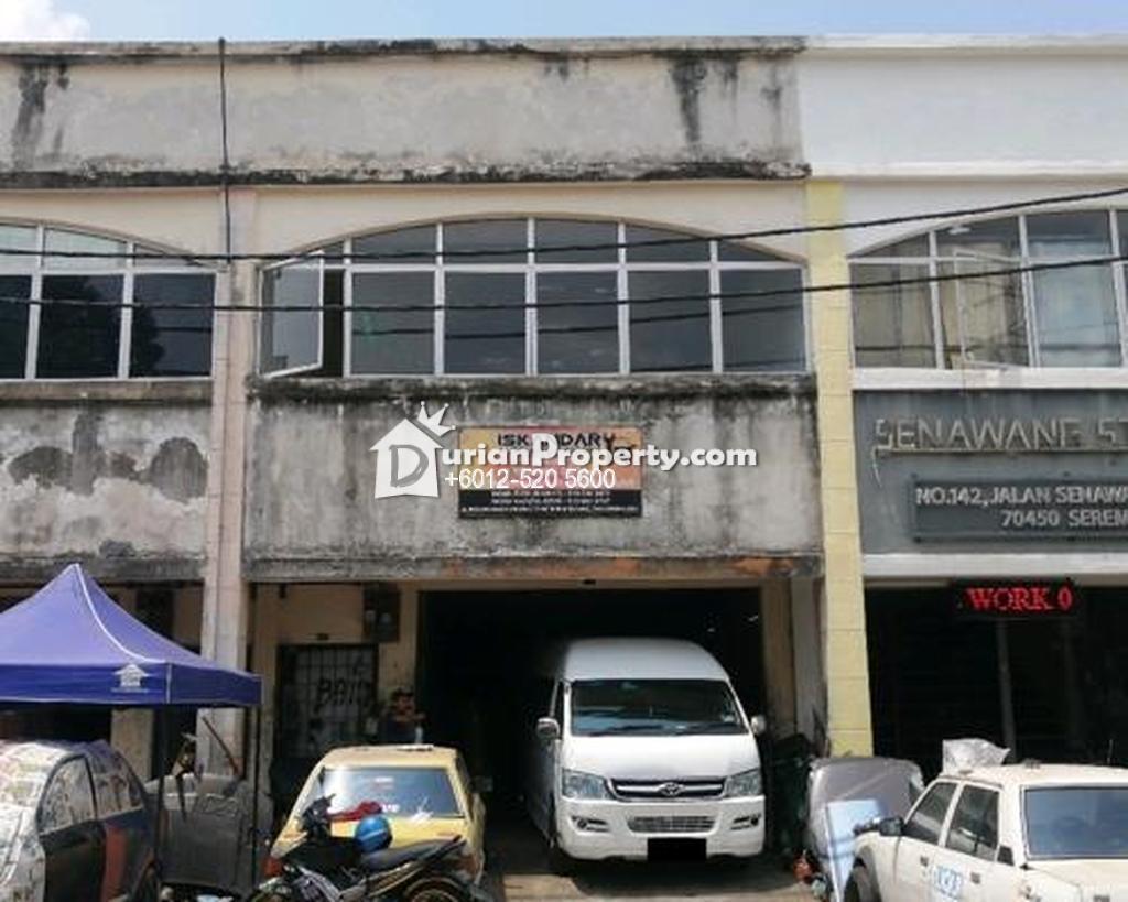 Shop Office For Auction at Pusat Bandar Senawang, Senawang