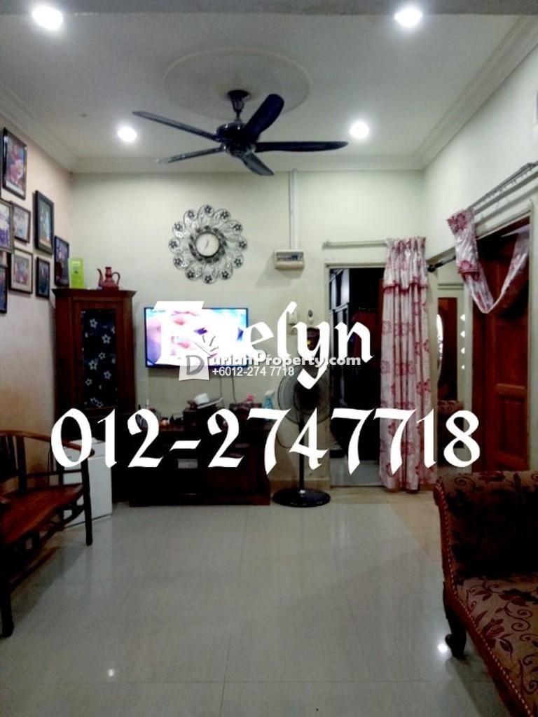Terrace House For Sale at Taman Seri Melati, Batu Caves