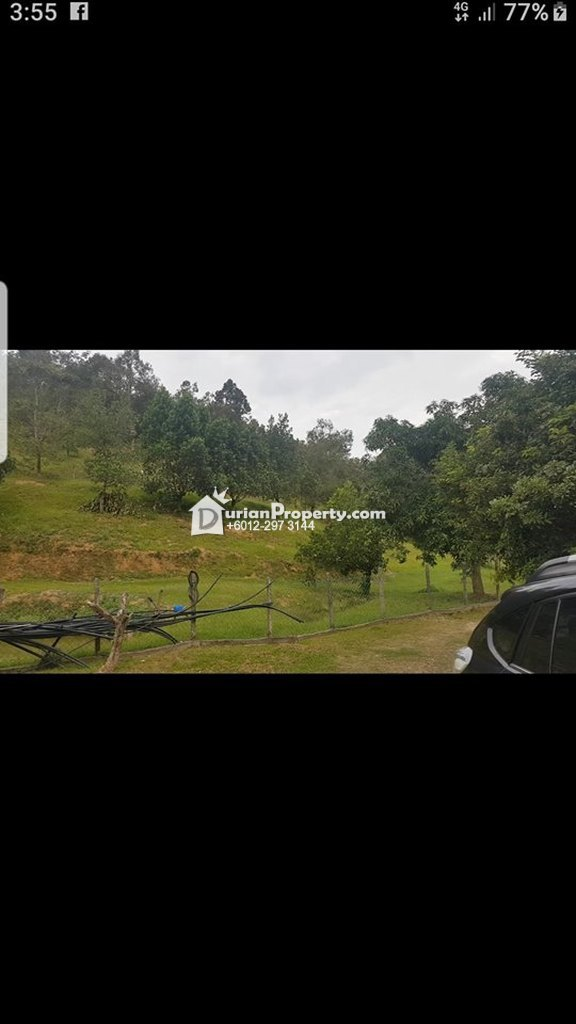 Agriculture Land For Sale at Bentong, Pahang