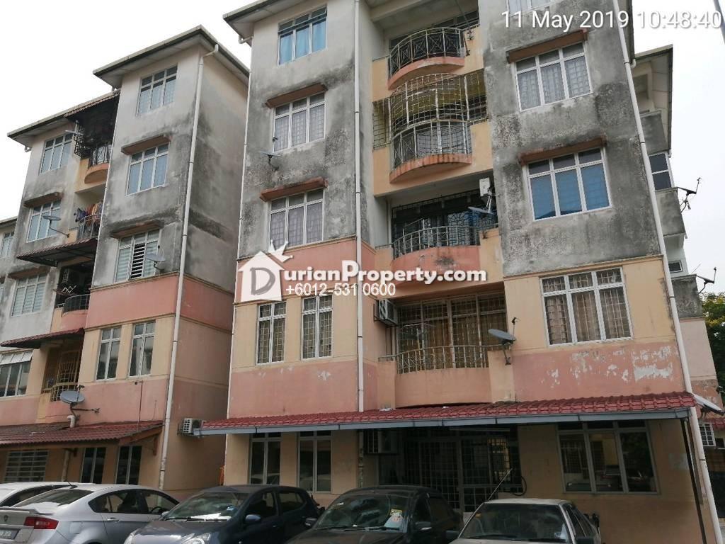 Apartment For Auction at Kenanga Apartment, Taman Putra Perdana