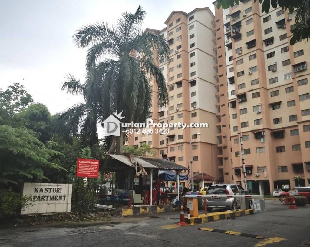 Apartment For Sale at Kasturi Apartment, Bandar Sri Permaisuri
