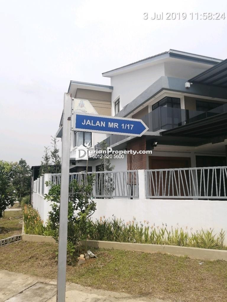 Semi D For Auction at M Residence, Rawang