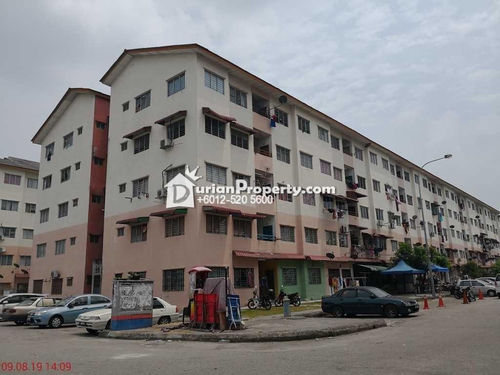 Flat For Auction at Taman Pendamar Indah 2, Port Klang