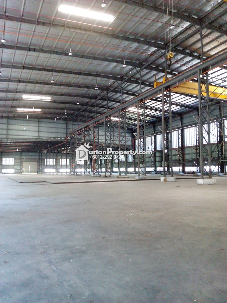 Detached Warehouse For Sale at Teluk Gong, Klang