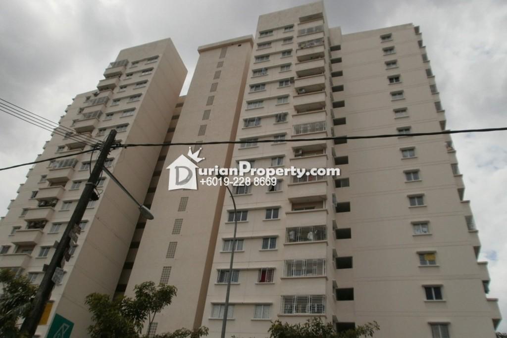 Apartment For Sale at Mandarina Court, Cheras