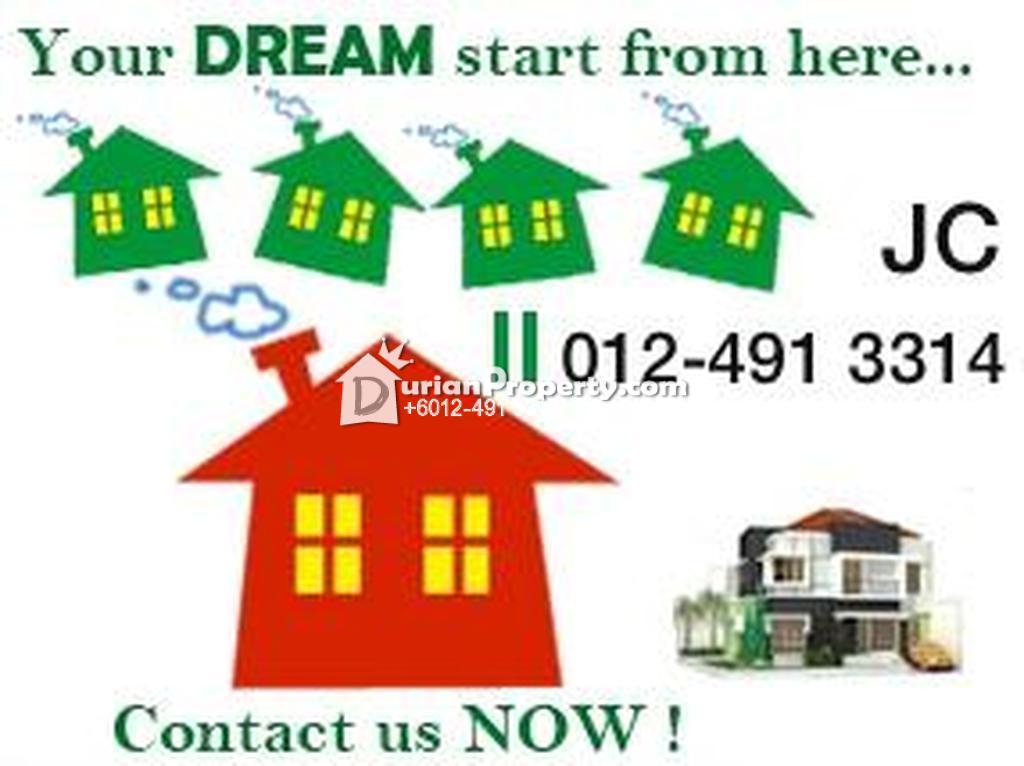 Terrace House For Rent at Taman Setapak Jaya, Setapak