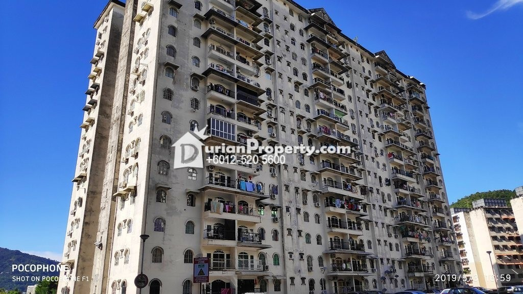Apartment For Auction at Desa Delima, Ayer Itam