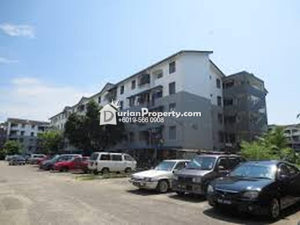 Flat For Sale at Taman Sri Janggus Flat, Bukit Mertajam
