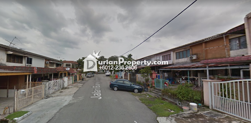 Terrace House For Sale at Taman Sri Rampai, Setapak