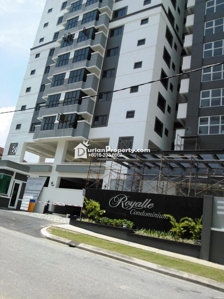 Condo For Rent at Royalle Condominium, Segambut