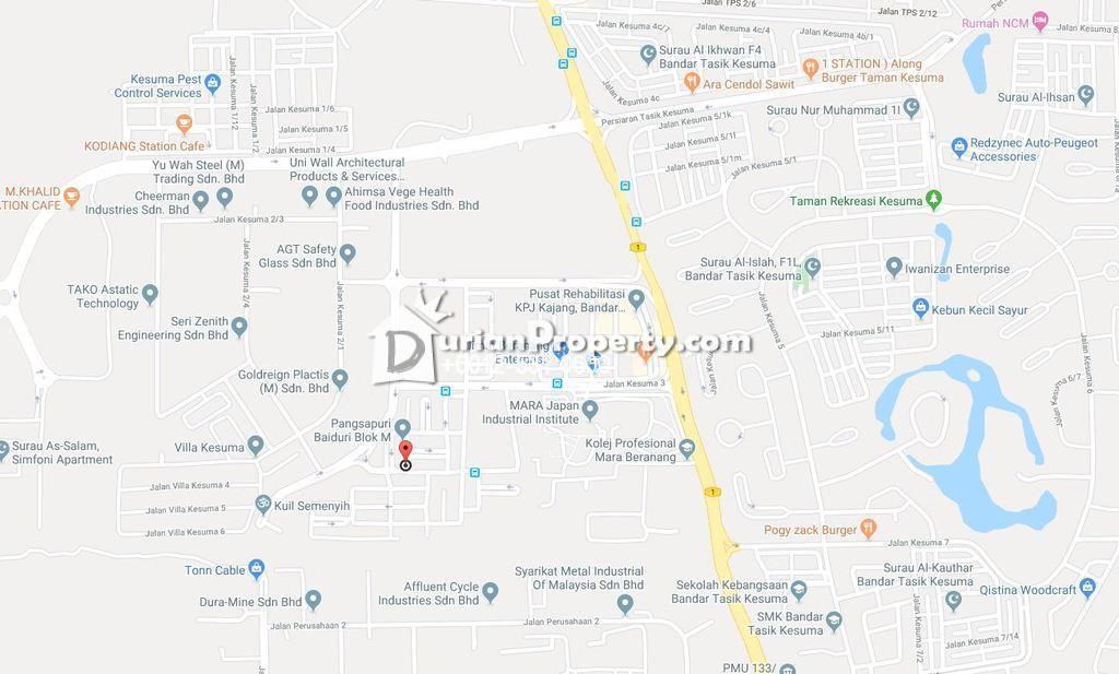 Flat For Auction at Pangsapuri Baiduri, Bandar Tasik Kesuma