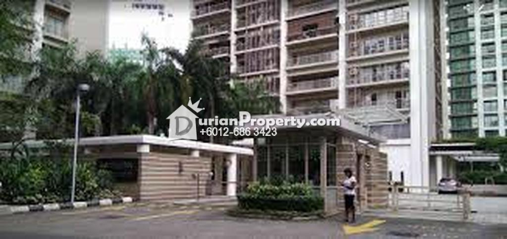 Condo For Rent at Hampshire Park, KLCC