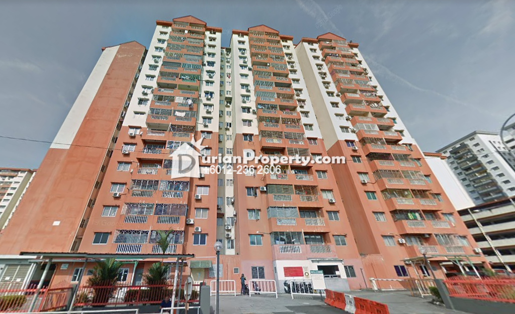 Apartment For Rent at Sri Raya Apartment, Kajang