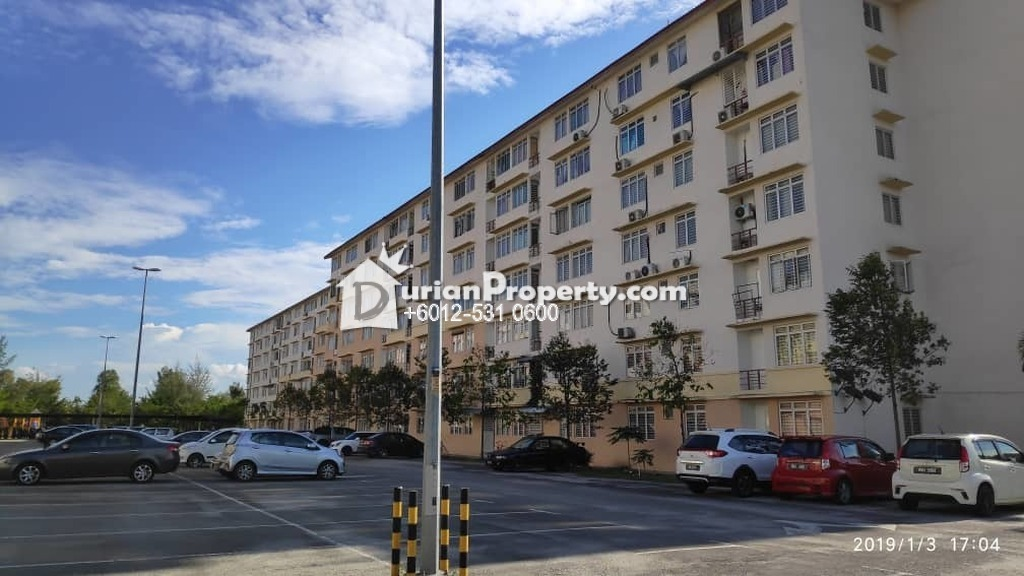 Apartment For Auction at Taman Topaz, Dengkil