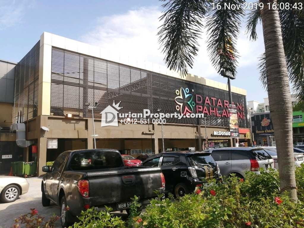 Shop Office For Auction at Dataran Pahlawan Melaka Megamall, Melaka