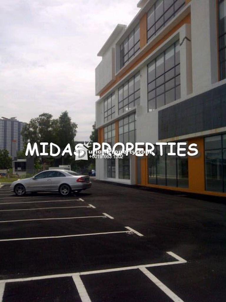 Semi-D Factory For Sale at Taman Sains Selangor, Kota Damansara