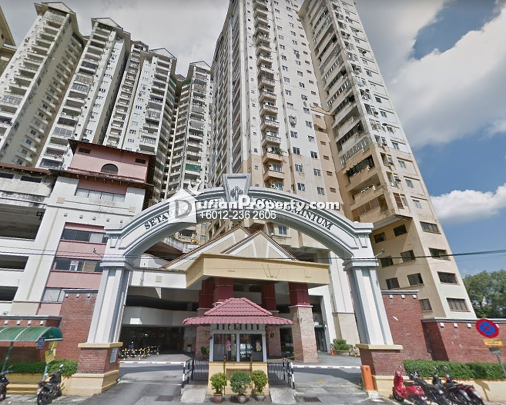 Condo For Rent at Setapak Ria Condominium, Setapak