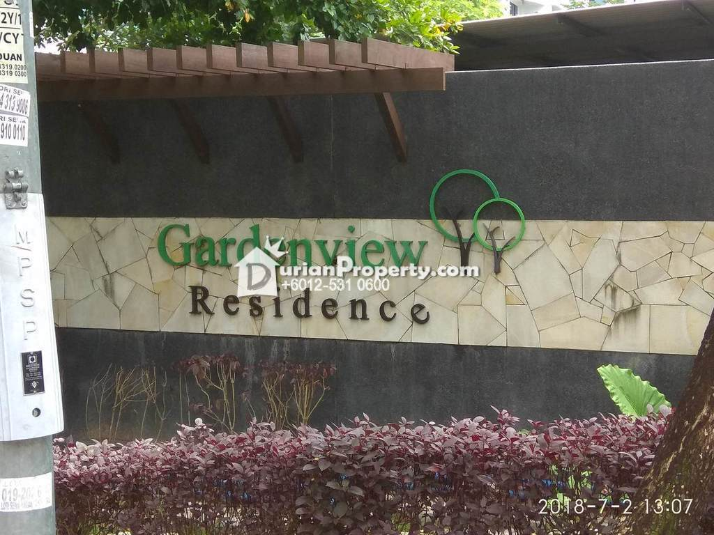 Condo For Auction at Gardenview Residence, Cyberjaya