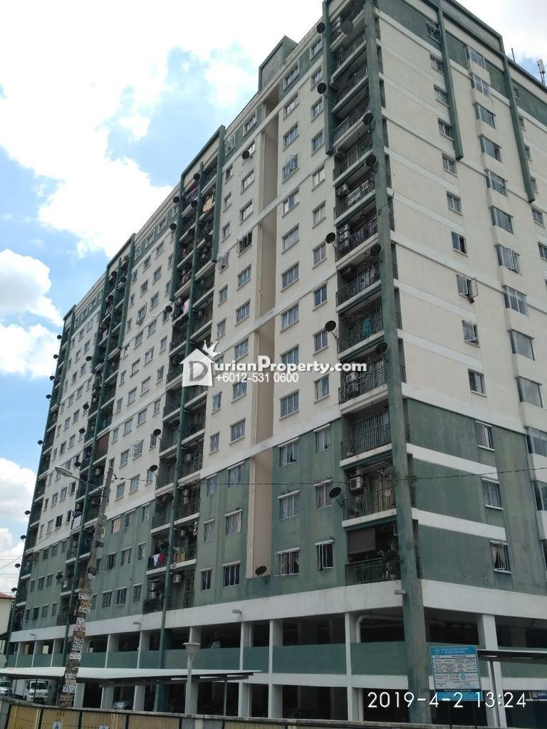 Apartment For Auction at Angsana Apartment, Taman Raintree