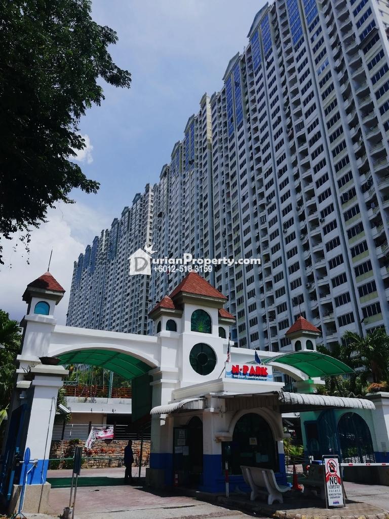 Apartment For Sale at N-Park, Batu Uban