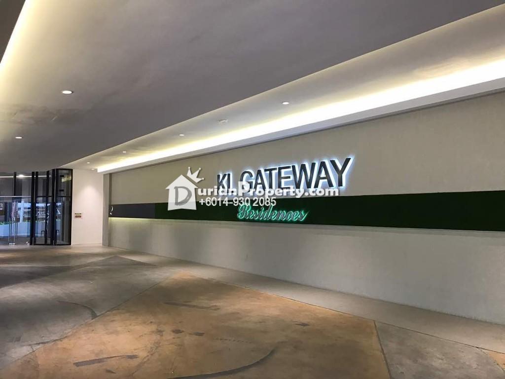 Condo For Rent at KL Gateway, Bangsar South
