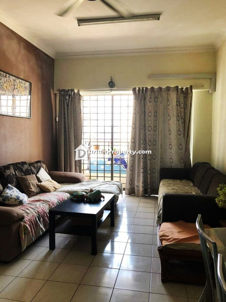 Apartment For Sale at Bukit Segambut Apartment, Taman Sri Sinar