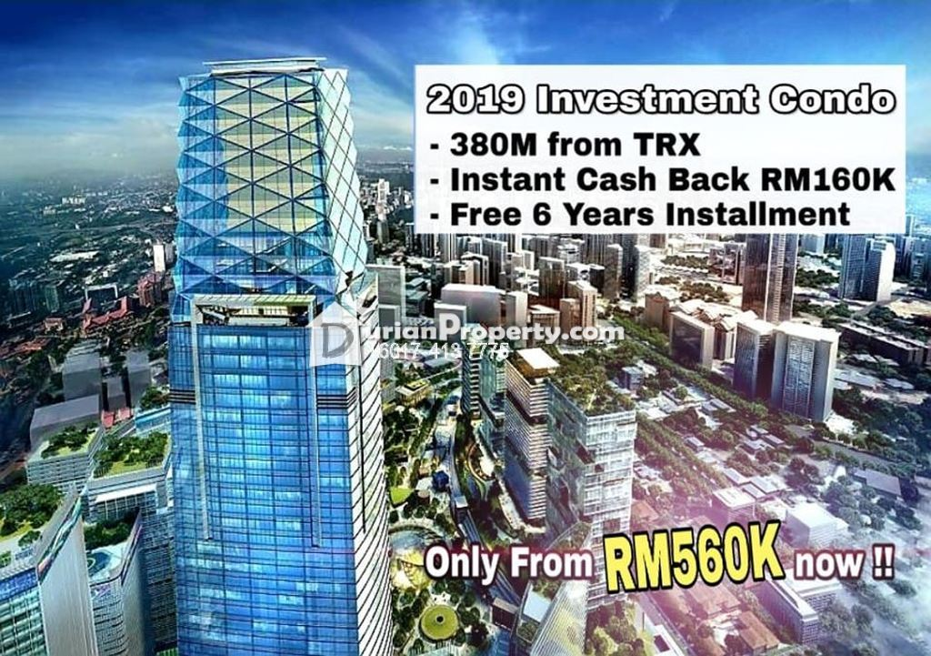 Condo For Sale at Kuala Lumpur, Malaysia
