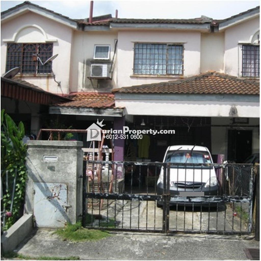 Terrace House For Auction at Pinggiran Lembah Hijau, Rawang