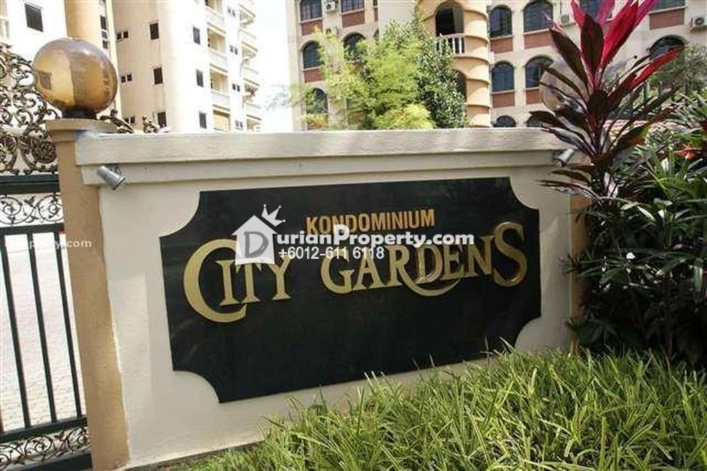 Condo For Rent at City Gardens, Bukit Ceylon